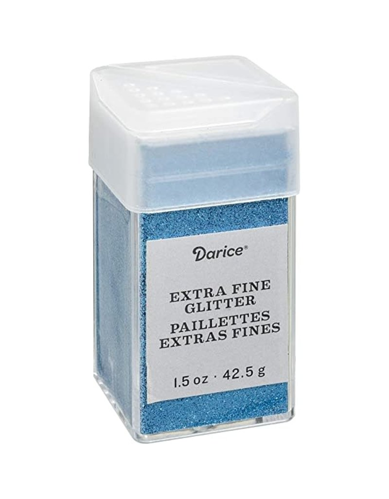 Darice Extra Fine Glitter: Marine, 1.5 Ounces