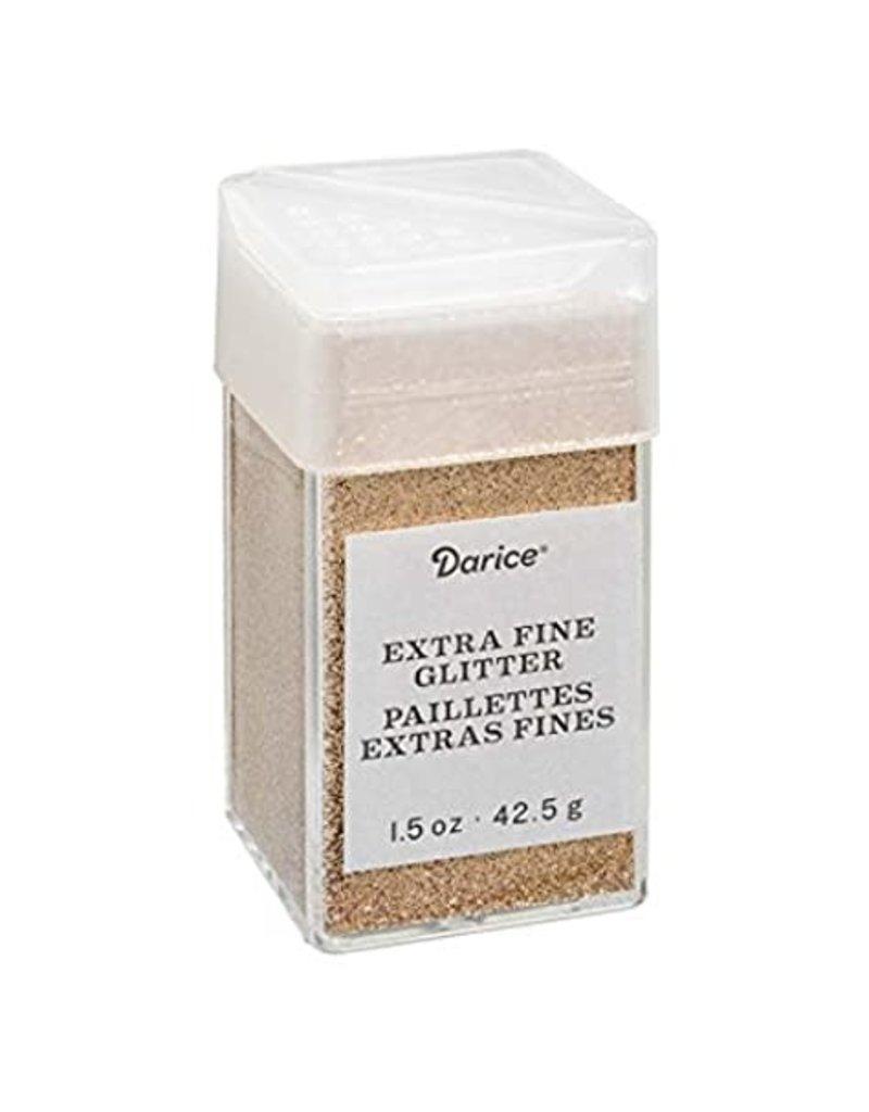 Darice Extra Fine Glitter: Copper, 1.5 Ounces