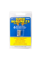 Magnet Source Super Neodymium Disc Magnets, .472'' Dia. X .118'' Thk. 6/Pkg.
