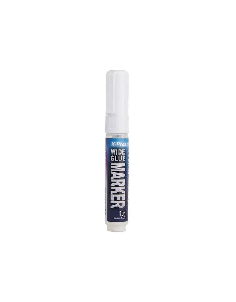 X-Press it X-Press It Glue Wide Marker, 8Mm Wide Point, 10G