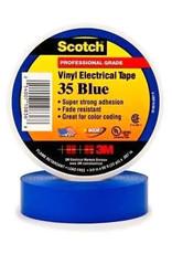 Scotch 3m Tape Electrical Blue 3/4Inx66Ft