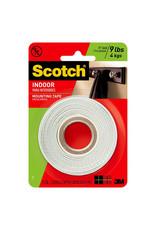 Scotch 3m Scotch Mounting Tape 1/2'' X 75'' Roll
