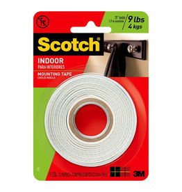 Scotch 3m Scotch Mounting Tape 1/2'' X 75'' Roll