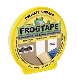 "Duck Tape FrogTape Delicate-Surface Masking Tape, .94"" x 60 yards"
