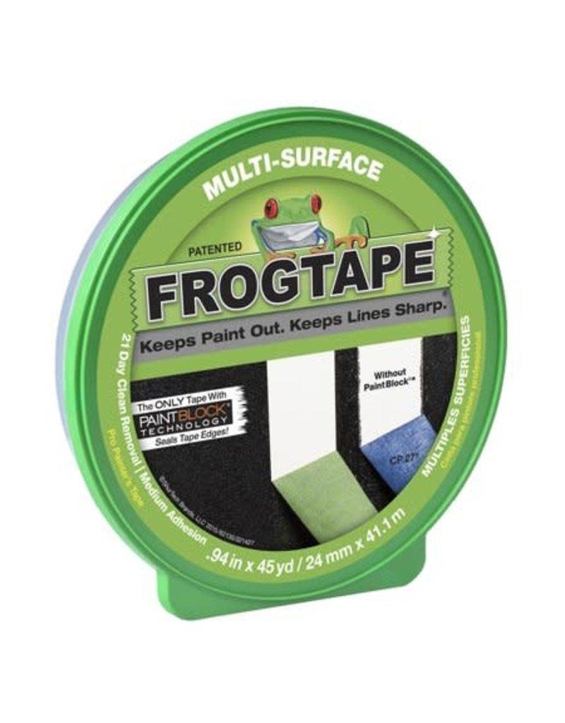 "Duck Tape FrogTape Multi-Surface Masking Tape, .94"" x 60 yards"