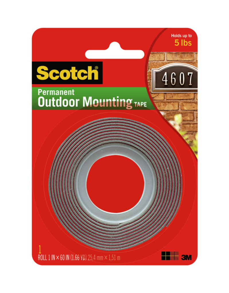 Scotch 3m 4011 Exterior Mounting Tape1X60In