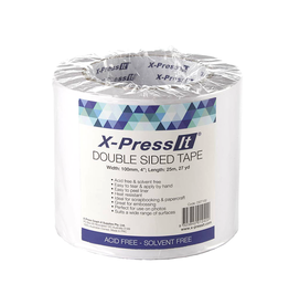 X-Press it Double Sided Tissue Tape (4'' X 27Yds)