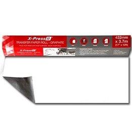 X-Press it Transfer Paper Roll Graphite 17'' X 12Ft
