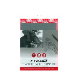 X-Press it Transfer Paper - Graphite A4(210 X 297Mm/8.27'' X 11.69'') 20 Sheets