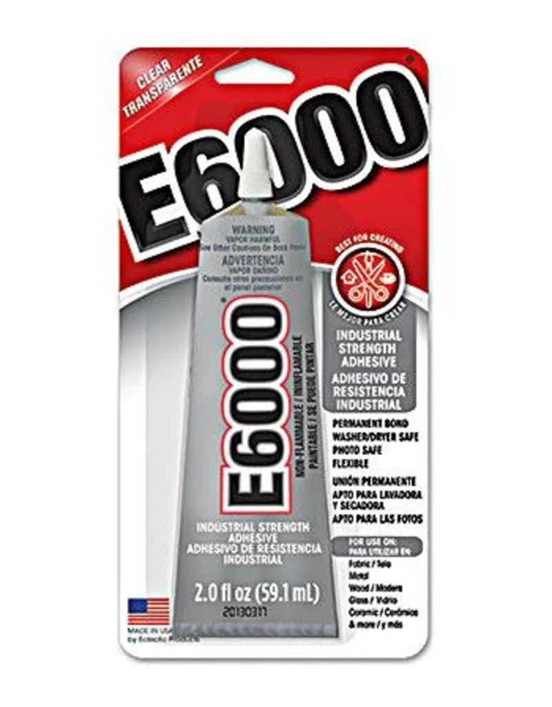 Eclectic E6000 Med Vis 2 Fl Oz Carded