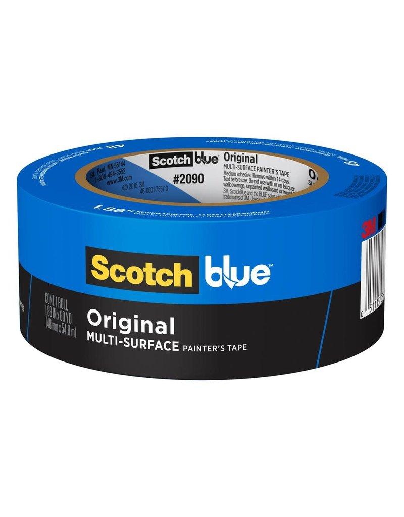 Scotch 3m Tape 2090 Painter Mask Blue 1.5X60Y