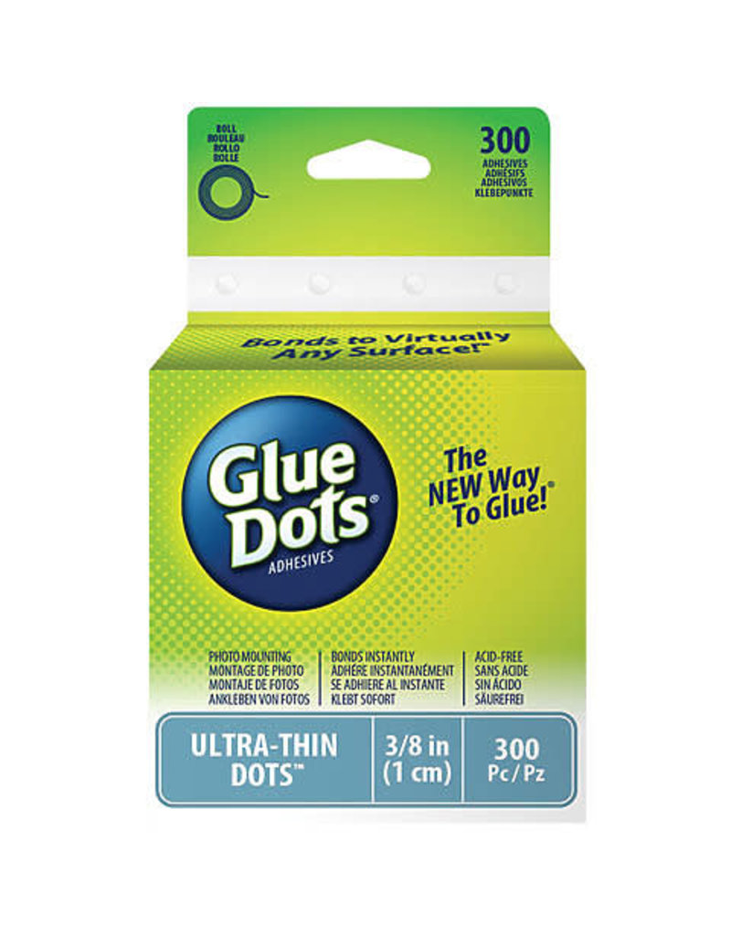 Glue Dots Ultra Thin Glue Dots, Memory Book Glue Dots