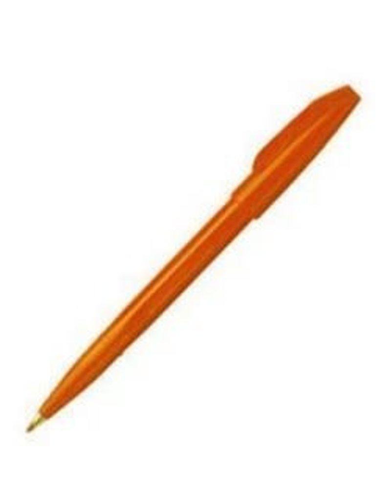 Pentel Fiber Tip Sign Pen Orange