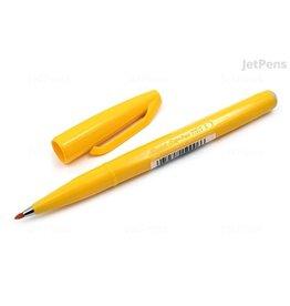 Pentel Fiber Tip Sign Pen Yellow