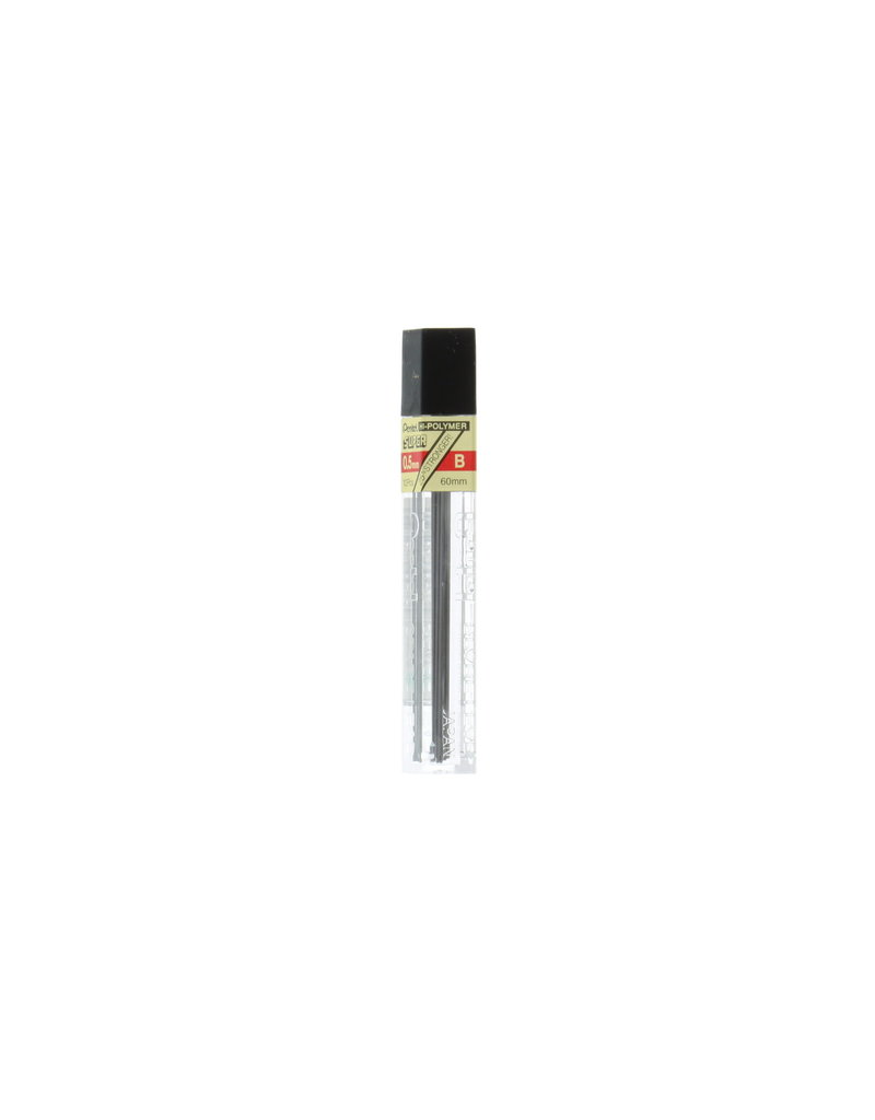 Pentel Lead Mechanical Pencil .5Mm B (12/Tube)