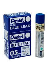 Pentel Lead Mechanical Pencil .5Mm Blue (12/Tube)