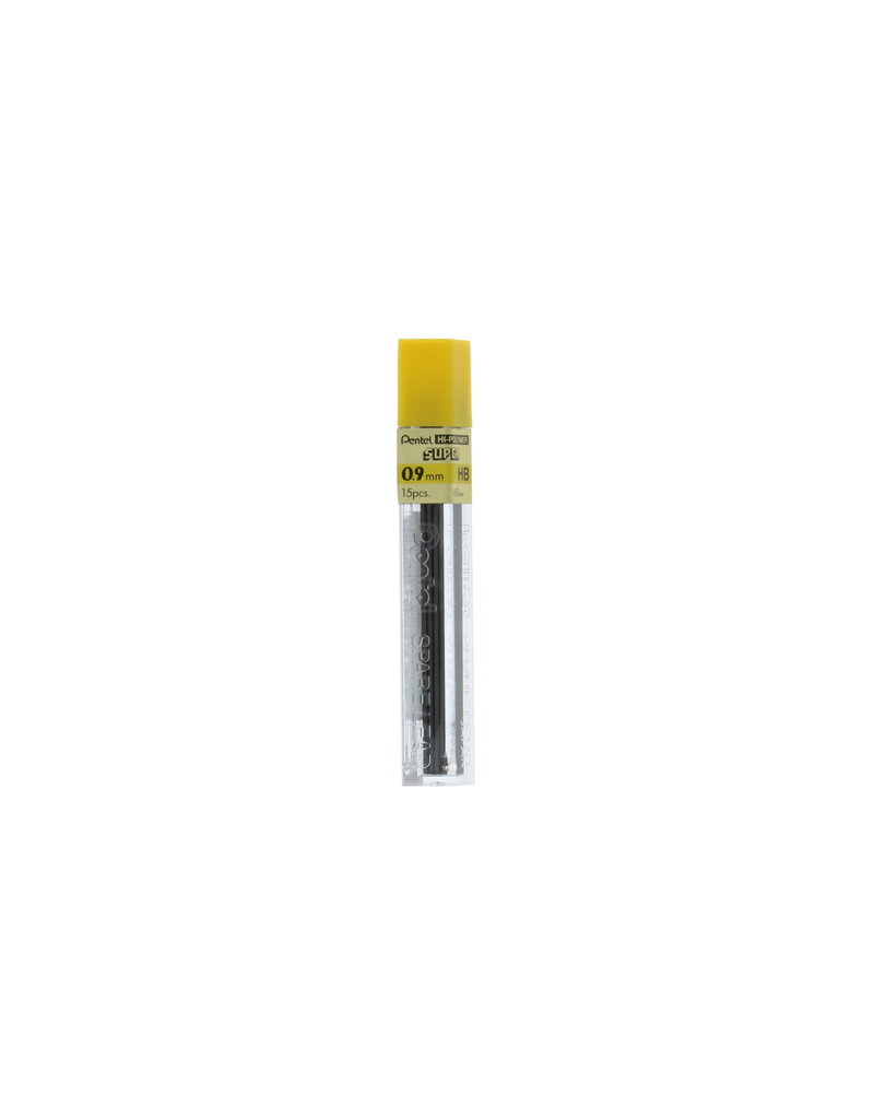 Pentel Lead Mechanical Pencil .9Mm Hb (15/Tube)