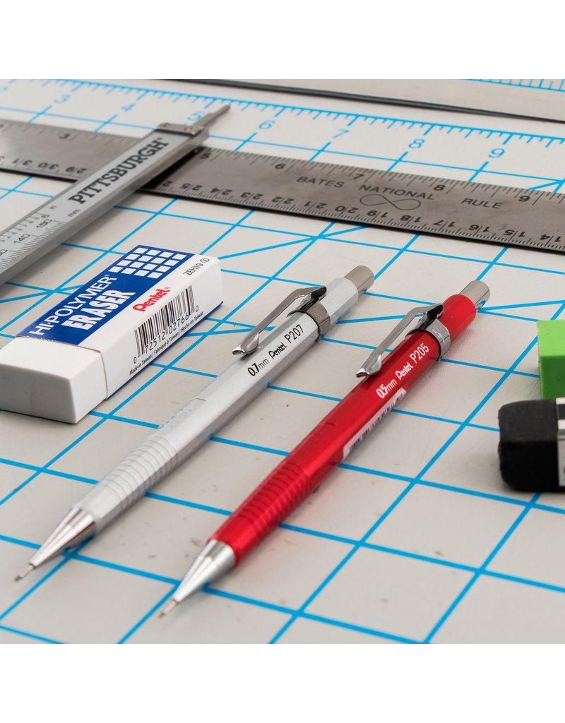 Pentel Sharp Mechanical Pencil  Metallic Red .5Mm