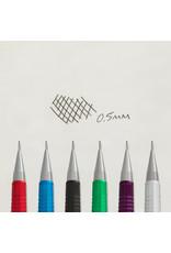 Pentel Sharp Mechanical Pencil  Metallic Silver .5Mm