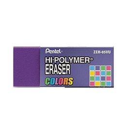 Pentel Eraser Hi-Poly Purple