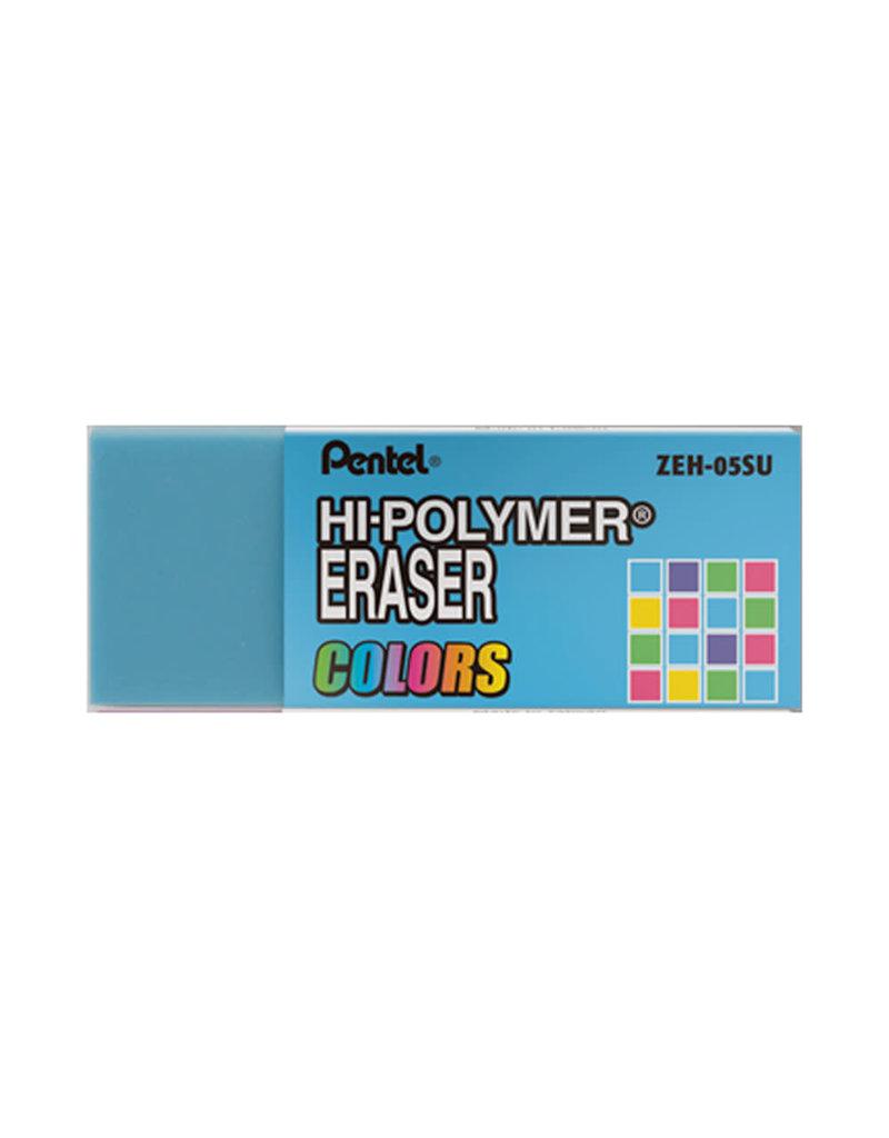Pentel Eraser Hi-Poly Blue