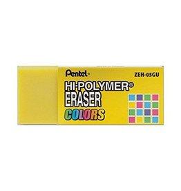 Pentel Eraser Hi-Poly Yellow