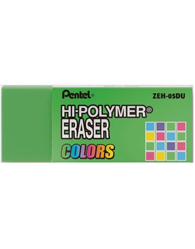 Pentel Eraser Hi-Poly Green