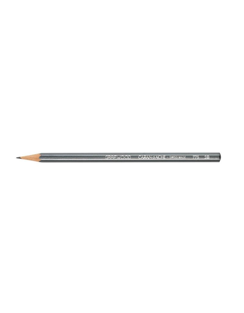 Graphite Line Artist Graphite Pencil Grafwood 3B