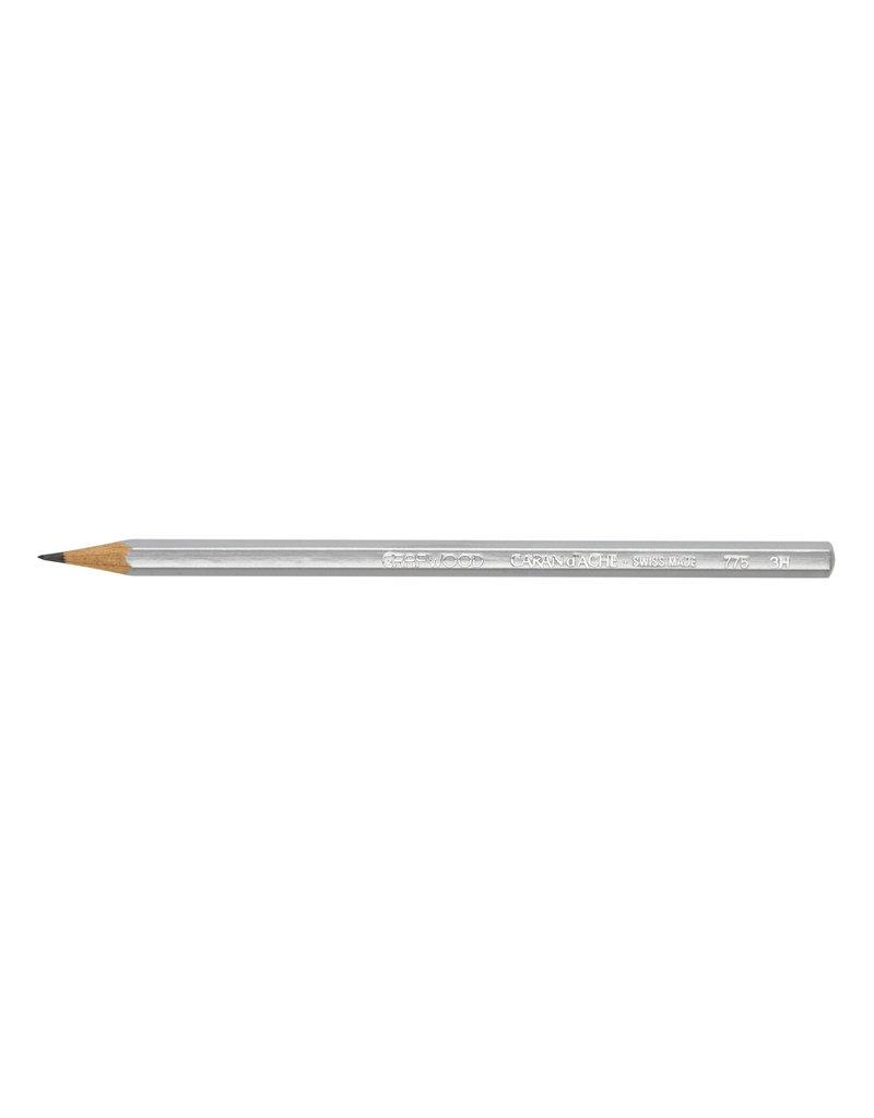 Graphite Line Artist Graphite Pencil Grafwood 3H