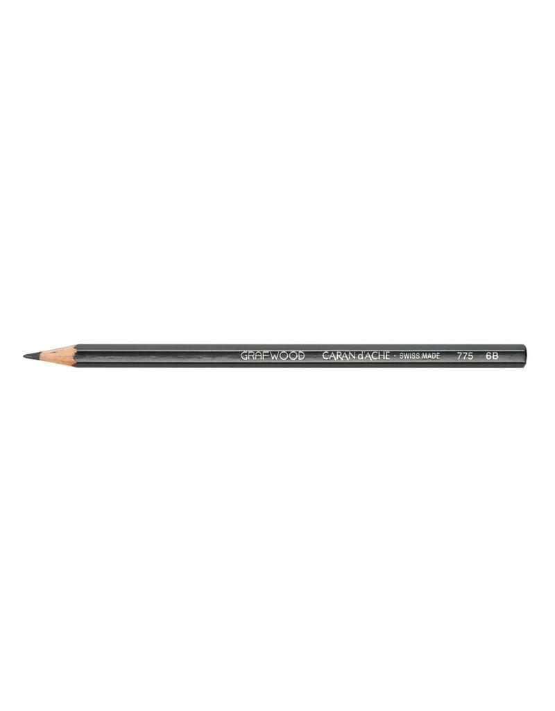 Graphite Line Artist Graphite Pencil Grafwood 6B