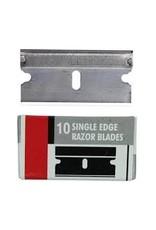 Excel Single Edge Razor Blade, .009'' - 10 pcs.