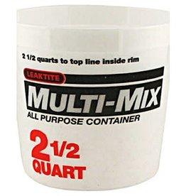Multi Mix Multi-Mix Plastic Tub 2.5Qt