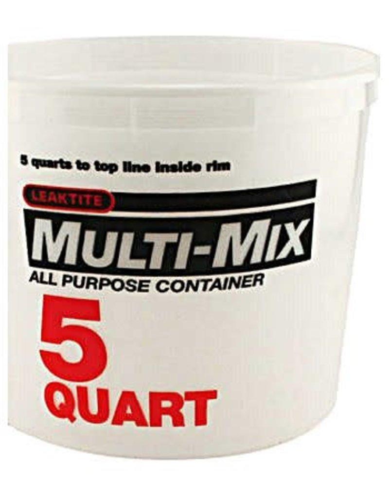 Multi Mix Multi-Mix Plastic Tub 5Qt