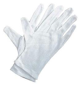 Art Alternatives Soft White Cotton Gloves, 4 Pack