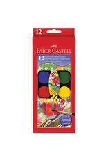 Faber Castel Watercolor Paint Set 12Ct