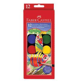 Faber Castel Faber Watercolor Paint Set 12Ct