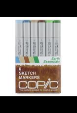 Copic Sketch 6 Piece Earth Essentials Set