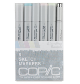 Copic Sketch 6 Piece Blending Basics Set