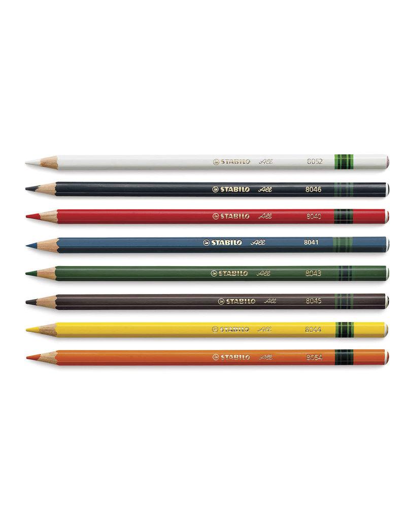 Stabilo All-STABILO Colored Pencils For Film & Glass