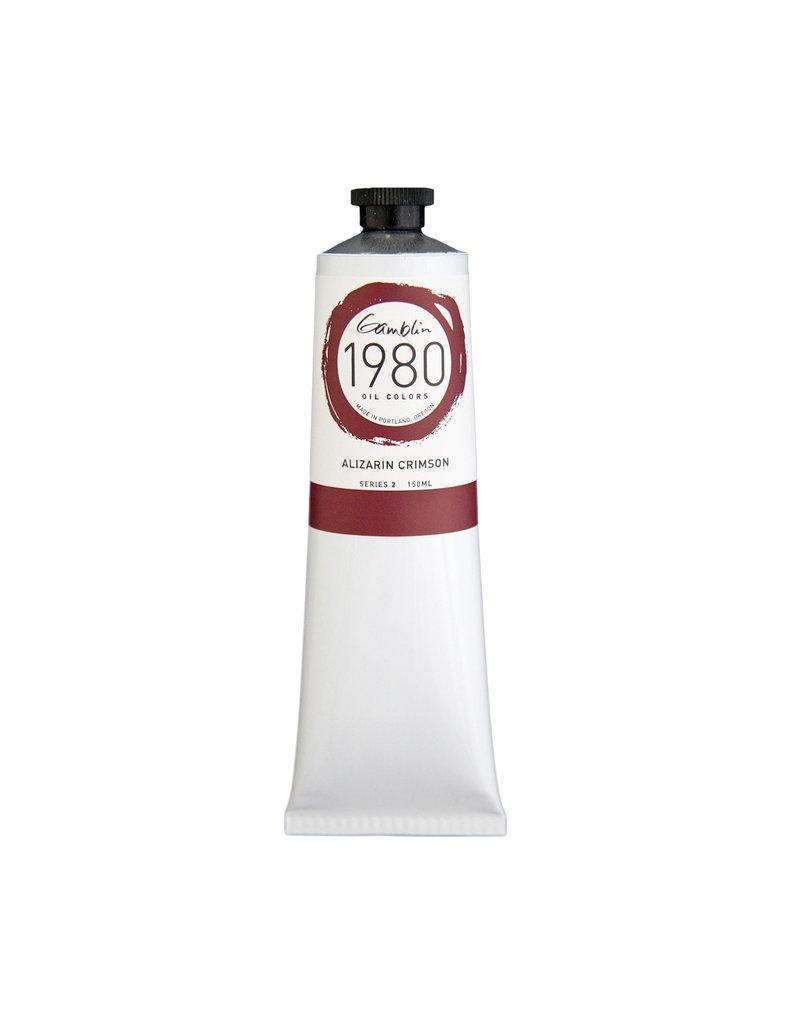 Gamblin 1980 Oil 150Ml Alizarin Crimson