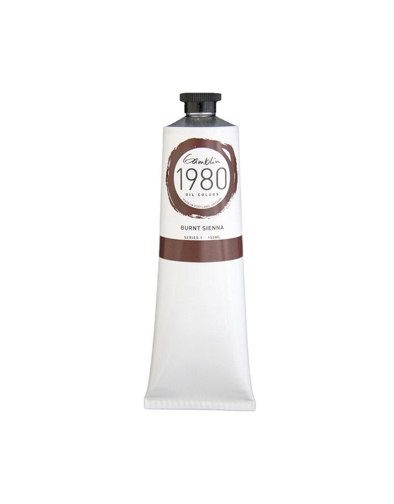 Gamblin 1980 Oil 150Ml Burnt Sienna
