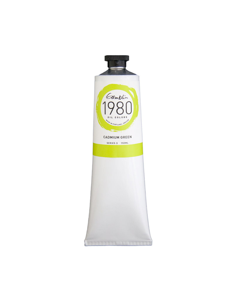 Gamblin 1980 Oil 150Ml Cadmium Green