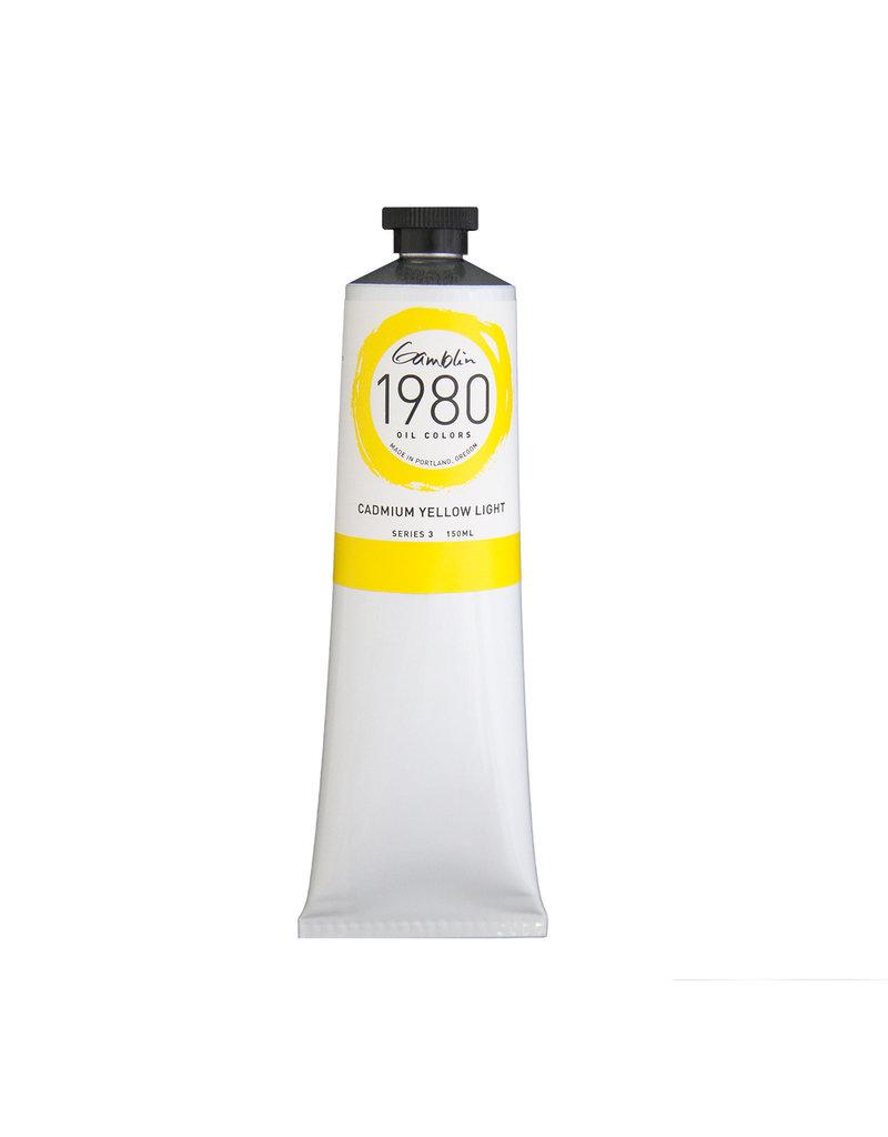 Gamblin 1980 Oil 150Ml Cadmium Yellow Light