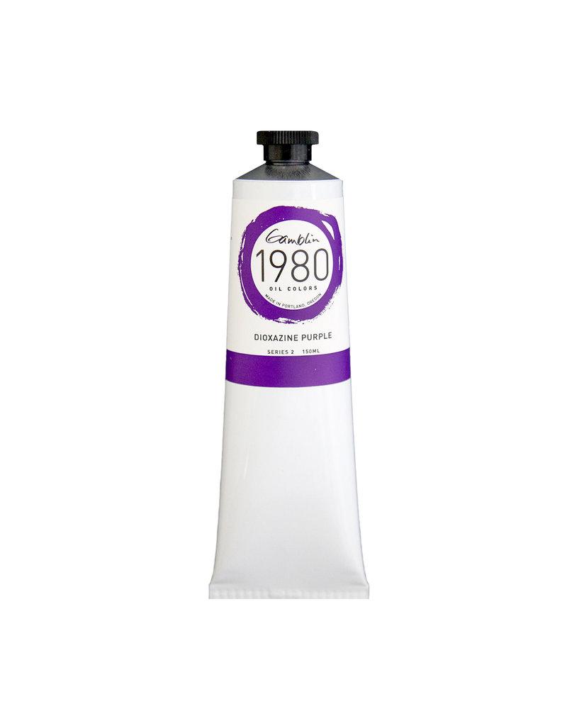 Gamblin 1980 Oil 150Ml Dioxazine Purple
