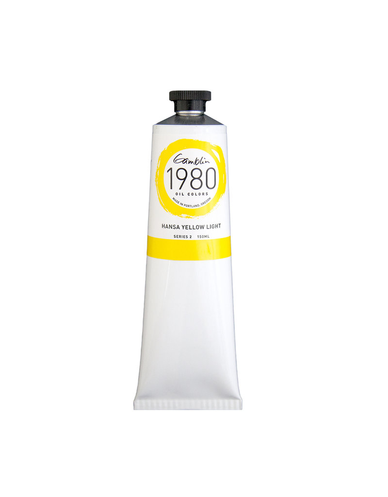 Gamblin 1980 Oil 150Ml Hansa Yellow Light