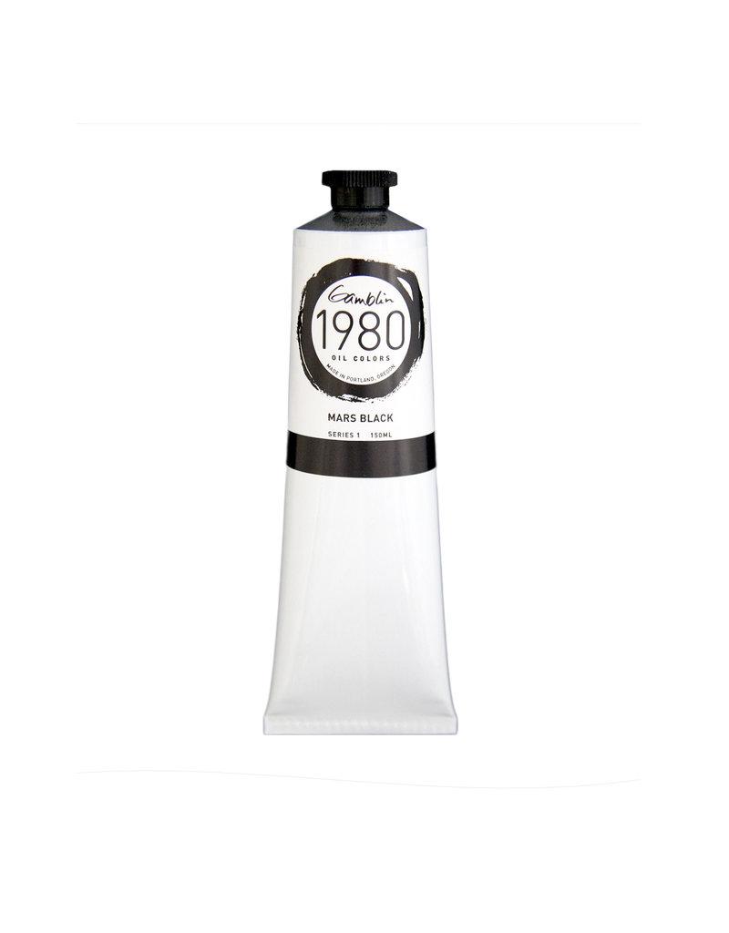 Gamblin 1980 Oil 150Ml Mars Black