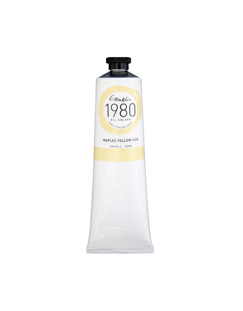 Gamblin 1980 Oil 150Ml Naples Yellow