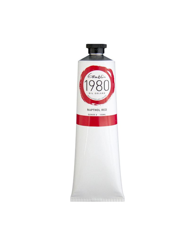 Gamblin 1980 Oil 150Ml Napthol Red