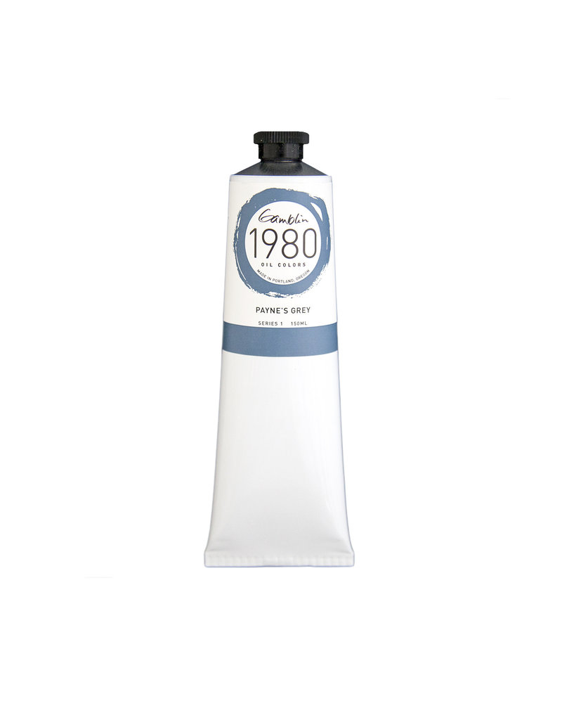 Gamblin 1980 Oil 150Ml Paynes Gray