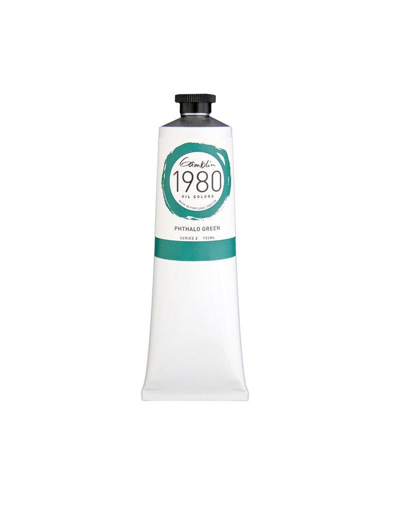 Gamblin 1980 Oil 150Ml Phthalo Green
